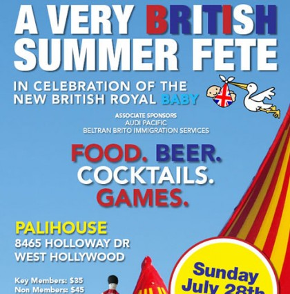 Brits In LA Summer Fete