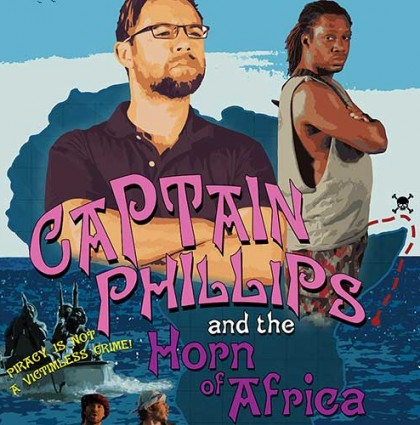 """Captain Phillips and the Horn of Africa"" (poster)"
